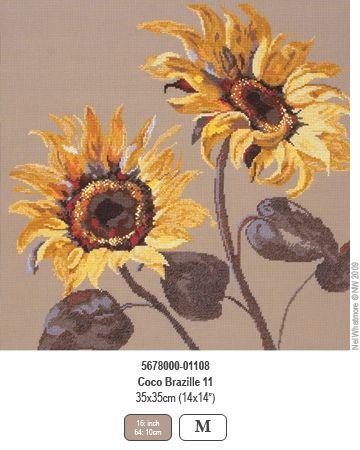 Coco Brasille II - Sunflower